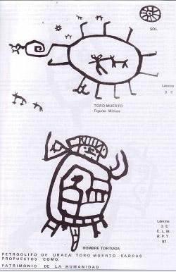 Fuente: Eloy Linares Malaga, Prehistoria de Arequipa, Tomo I, ed. UNSA, Arequipa, 1990.